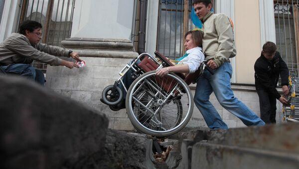 Барьеры города для людей с ограниченными возможностями