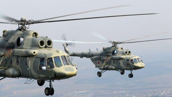 Вертолеты Ми-17 Казанского вертолетного завода