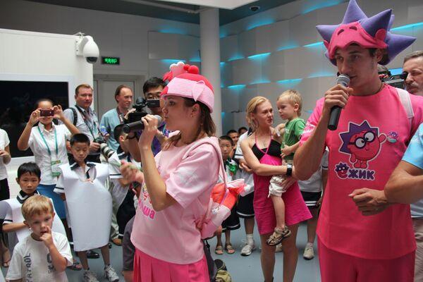 В российском павильоне на ЭКСПО-2010 в Шанхае прошел День Знаний
