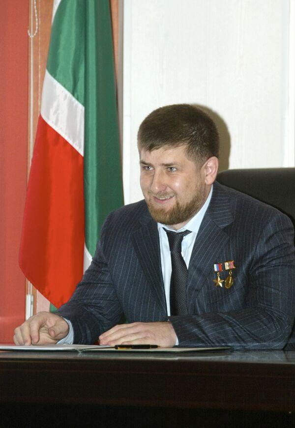 Р. Кадыров утвержден на пост президента республики