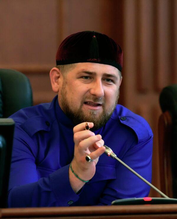 Президент Чечни Рамзан Кадыров. Архив