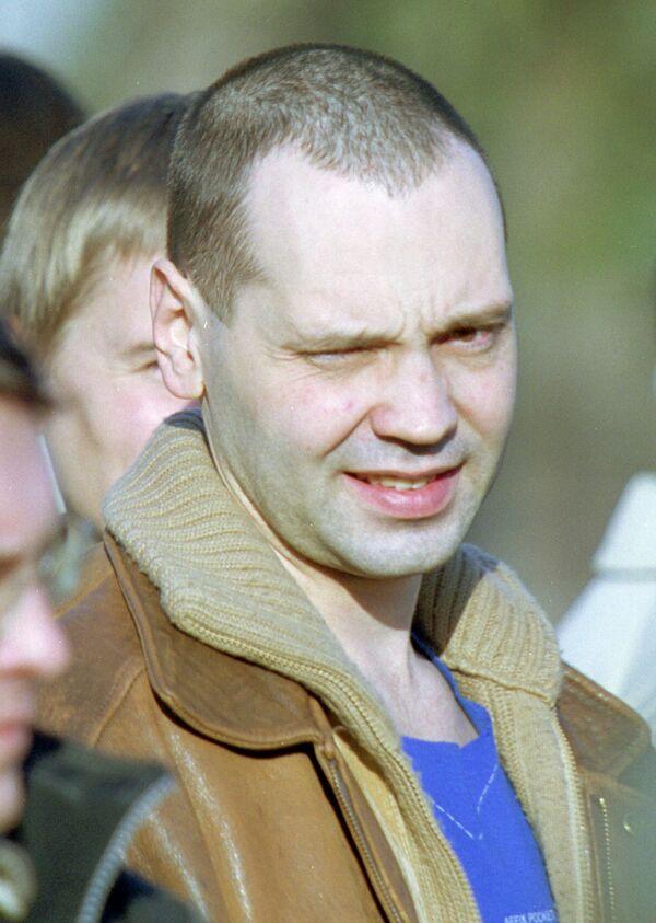 Белорусский оппозиционный журналист Олег Бебенин. Архив