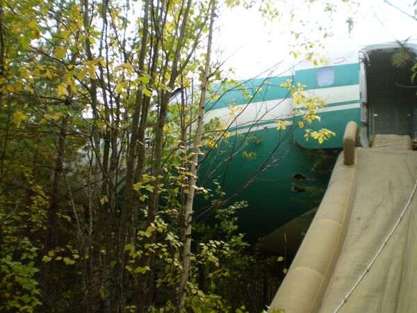 Аварийная посадка Ту-154м в Коми