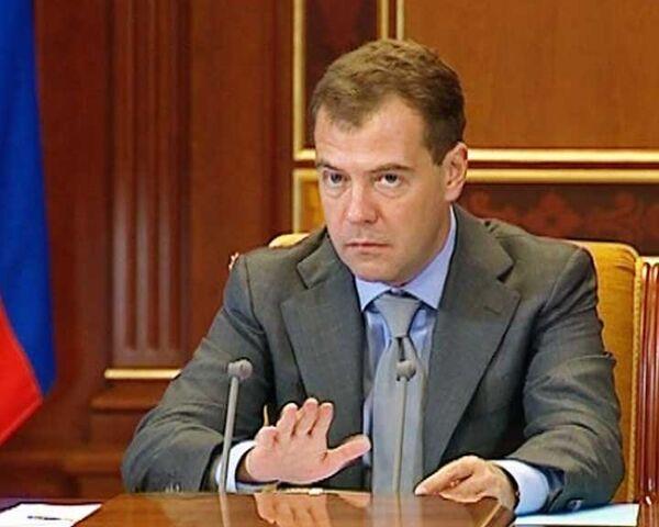 Медведев пообещал, что уволит губернаторов, которые не справятся с лесом