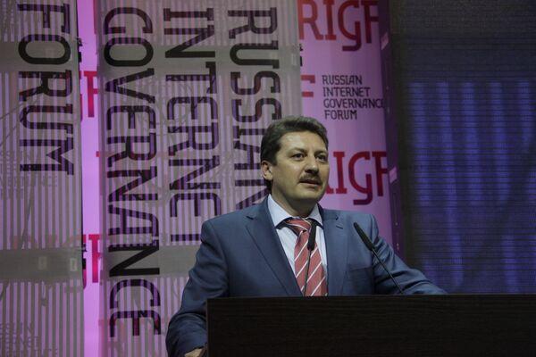Евгений Юрченко на Первом российском форуме по управлению Интернетом