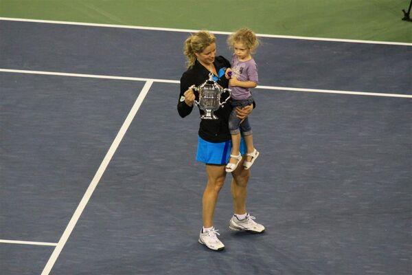 Ким Клейстерс cтала чемпионкой US Open