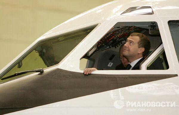 Рабочая поездка Дмитрия Медведева в Воронеж