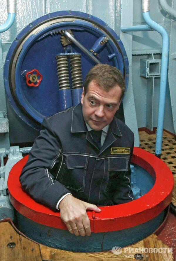 Президент России посетил Камчатский край