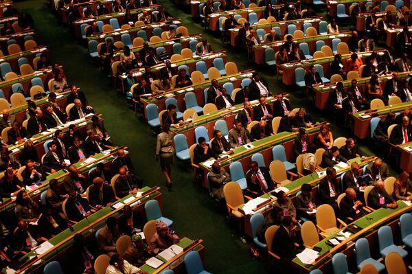 Участники общеполитической дискуссии на Генассамблее ООН
