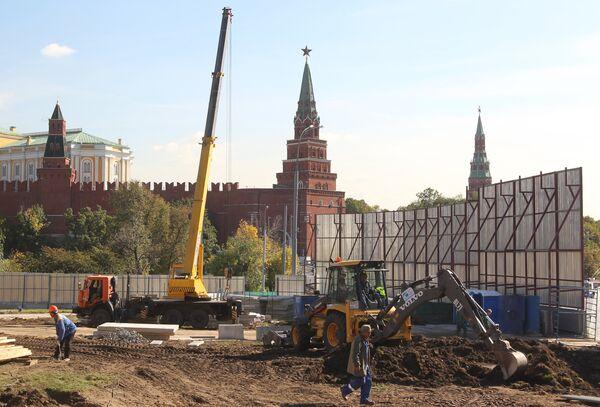 Строительство реставрационного комплекса музеев Московского Кремля