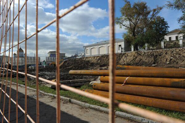 Приостановлено строительство реставрационно-депозитарного комплекса музеев Московского Кремля на Боровицкой площади
