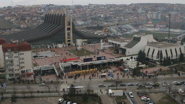 Ситуация в Приштине. Архивное фото