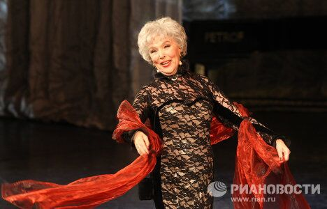 Творческий вечер, посвященный 85-летнему юбилею актрисы Веры Васильевой, прошел в театре Сатиры