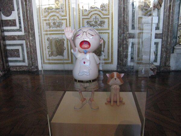 Выставка Такаши Мураками в Версале