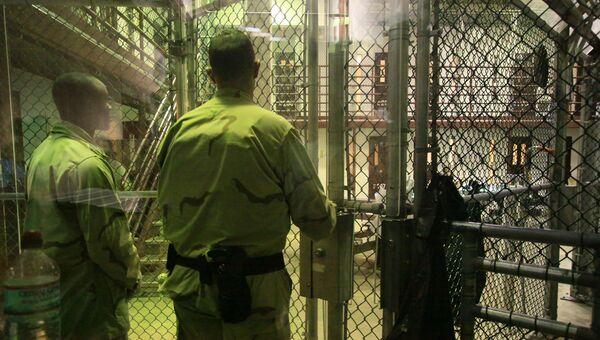 Тюремная охрана в Гуантанамо. Архивное фото