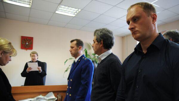 Вынесение приговора обвиняемому в нападении на актера А. Зиброва