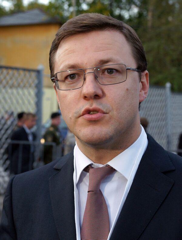 Кандидат в мэры Самары Дмитрий Азаров