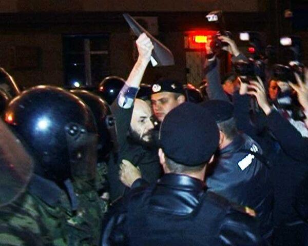 Милиция не дала провести первый после отставки Лужкова День гнева в Москве