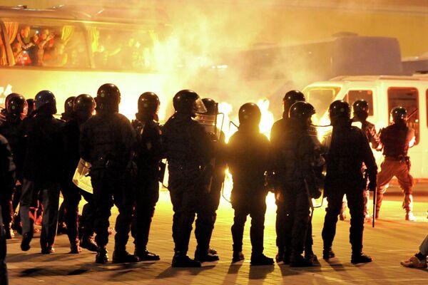 Полиция на матче Италия - Сербия