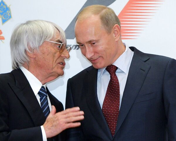 Путин и Экклстоун дали добро российскому Гран-при Формулы-1