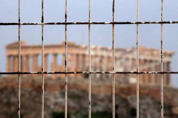 Забастовка работников афинского Акрополя