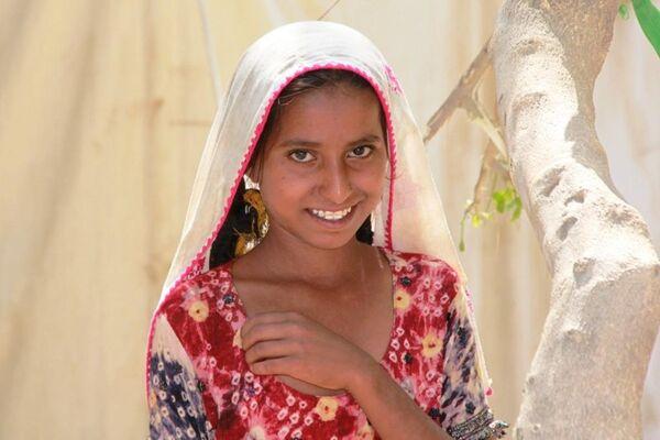 Девушка в Пакистане. Архив