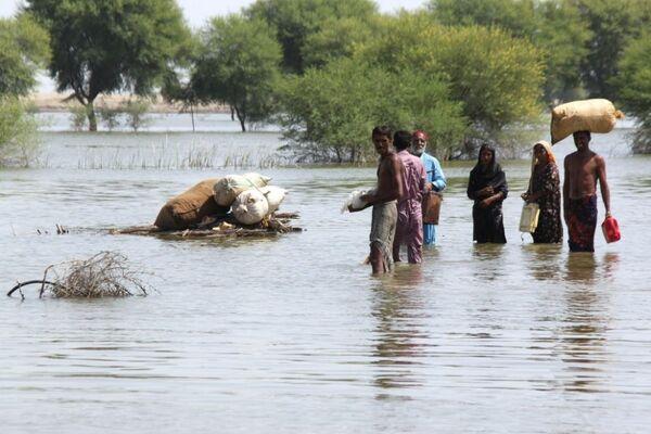 Пакистанский Синд: наводнение в пустыне