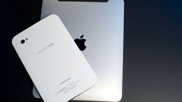 Samsung Galaxy Tab и  iPad