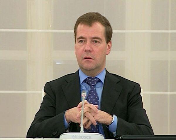 Медведев ответил тем, кто обвиняет Россию в желании разделить Европу
