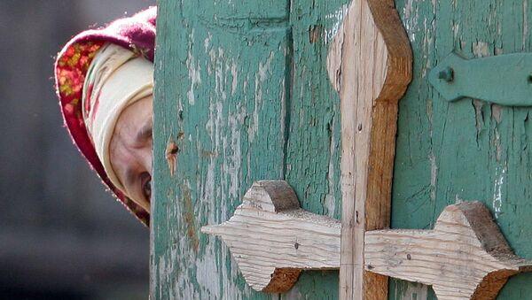 На месте затворничества сектантов в Пензенской области