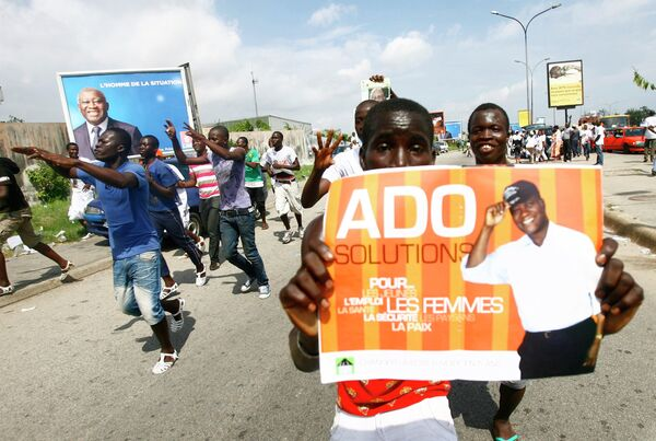 Предвыборная агитация в Кот-д'Ивуаре