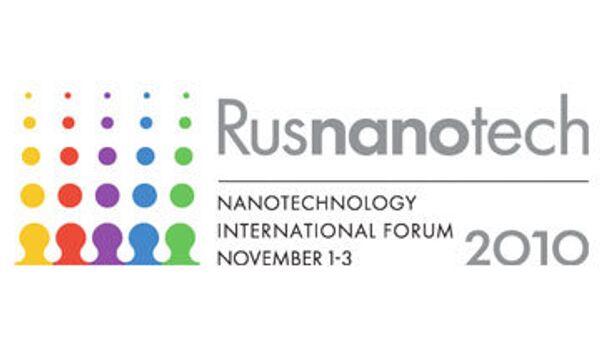 Третий международный форум по нанотехнологиям RUSNANOTECH 2010