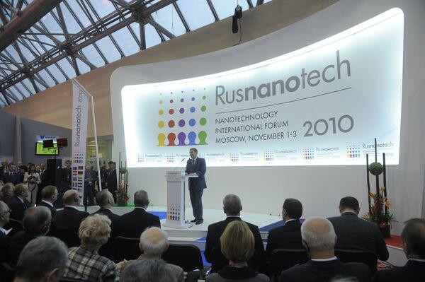 Международный форум по нанотехнологиям Rusnanotech 2010