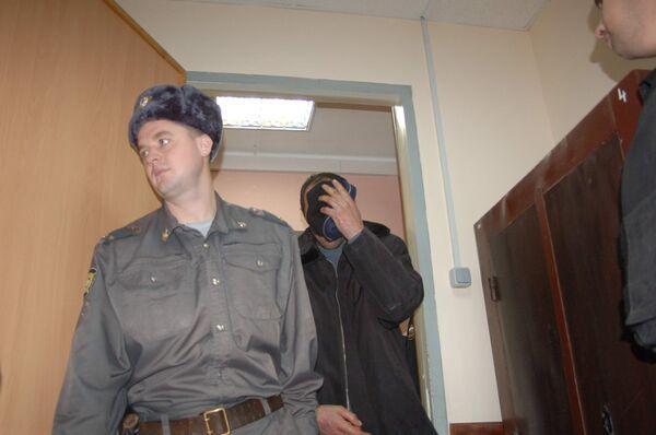 Районный суд Тулы рассматривает меру пресечения участника ДТП со служебной машиной Владимира Шаманова