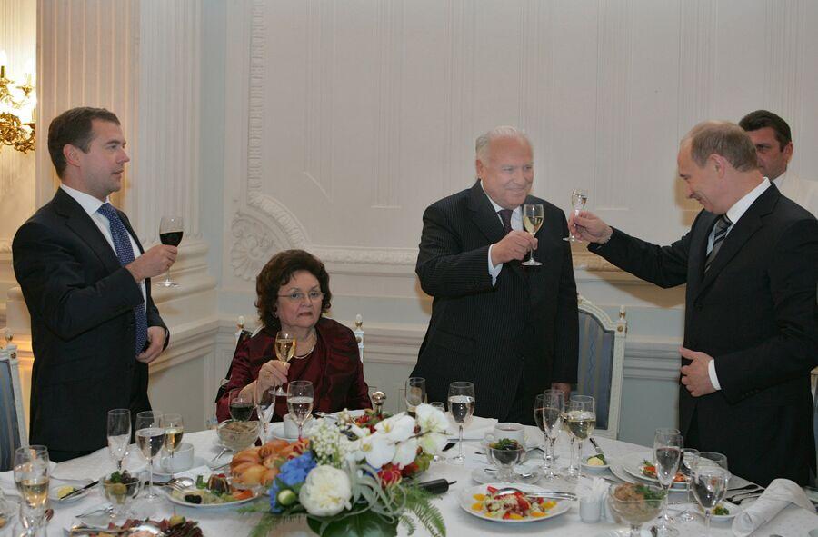Торжественный вечер, посвященный 70-летию Виктора Черномырдина в доме правительства РФ