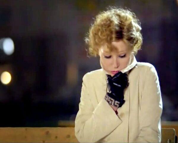 На премьере своего фильма Пестрые сумерки Гурченко танцевала под джаз