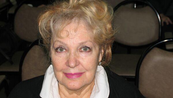 Народная артистка СССР Ирина Скобцева