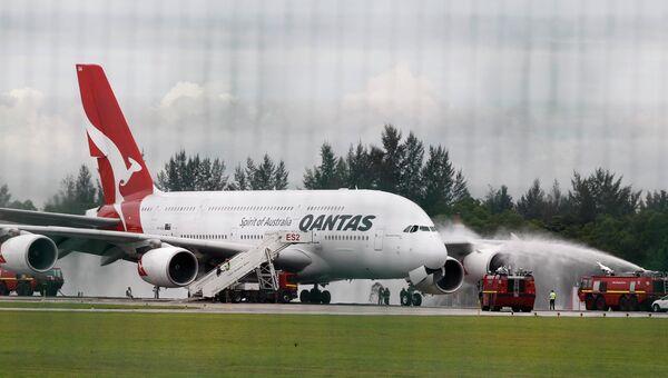 Инцидент с самолетом А380 авиакомпании Qantas