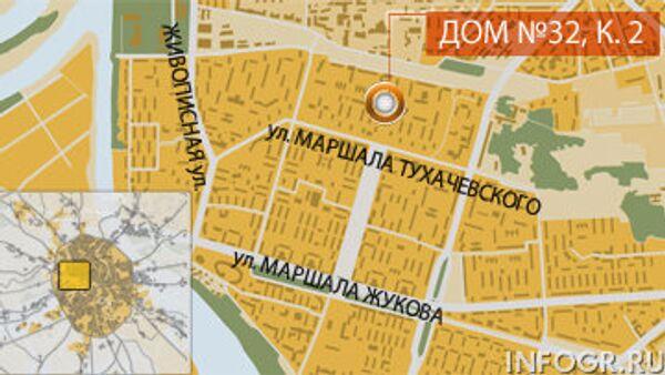 Два человека погибли при пожаре на северо-западе Москвы