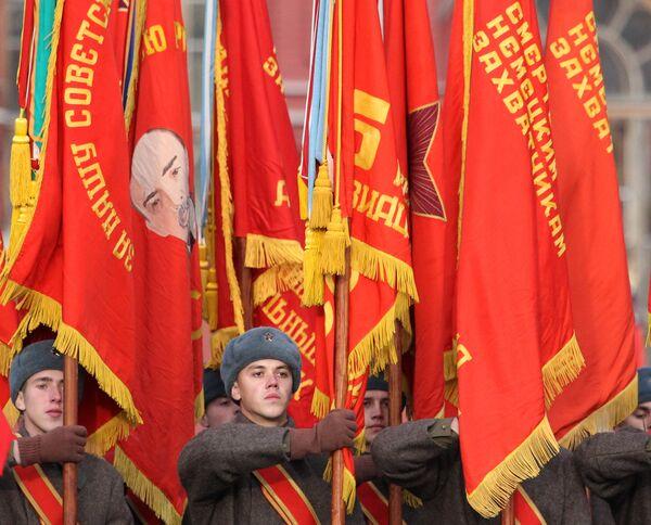 Марш в честь 69-й годовщины парада 7 ноября 1941 года