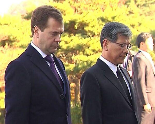 Медведев уверен, что Россия есть чему поучиться у Южной Кореи