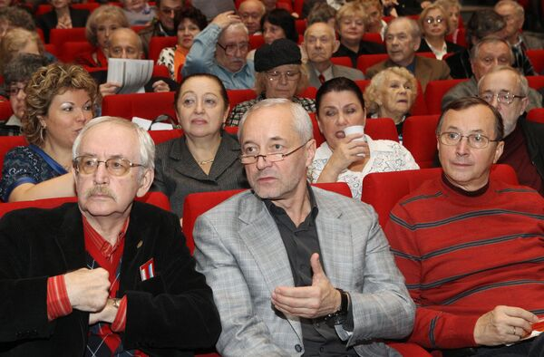 Общее собрание Московского отделения Союза кинематографистов РФ. 11 ноября 2010 года