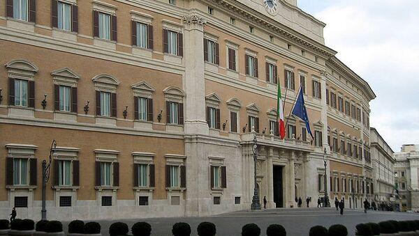 Здание парламента Италии. Архивное фото