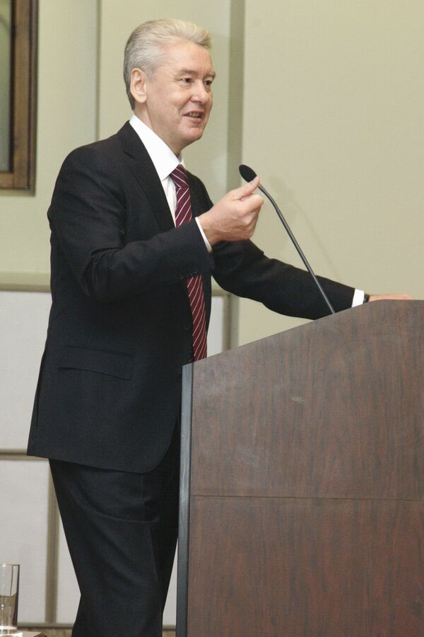Мэр Москвы Сергей Собянин принял участие в Меджународном конгрессе по дорожному движению в РФ