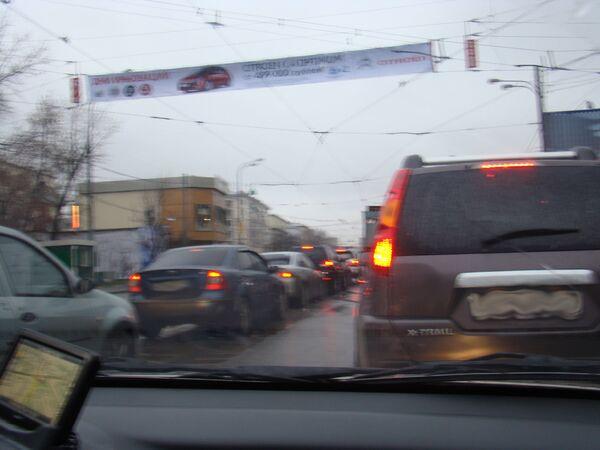 Перекресток Рогожского вала и Таганской улицы
