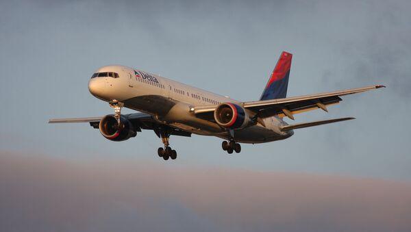 Самолет авиакомпании Delta Airlines. Архивное фото