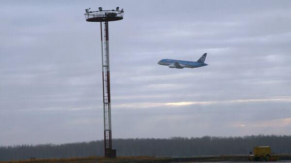 В аэропорту Хабаровска. Архив