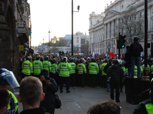 Бунтующий Лондон: учащиеся выступили против образовательной реформы
