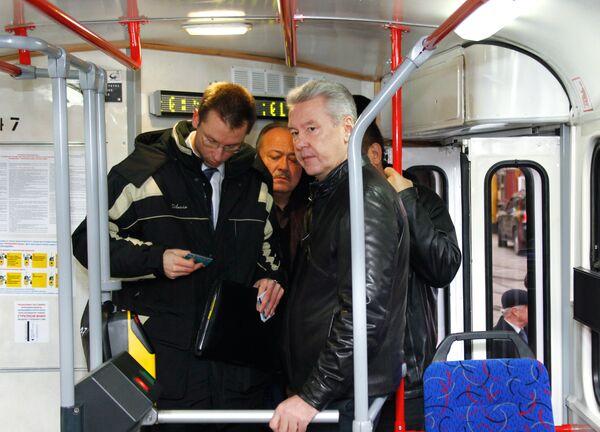 Субботний объезд мэра Москвы Сергея Собянина