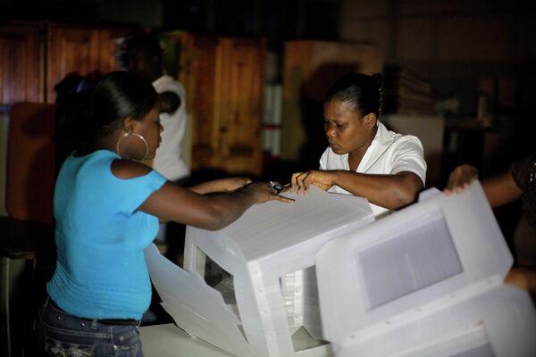 Выборы на Гаити